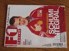$$$ Revue F1 Racing N°24 SchumacherJean TodtMontoyaDinizRoss Brawn
