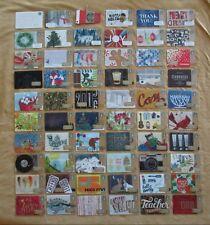 Starbucks Ltd Edition Cards *** 2015 COMPLETE 60 CARD HOLIDAY SET *** MINT & HTF