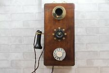 Antique/Vintage Rare Wooden Railway Telephone - Beautiful!-Works on any network