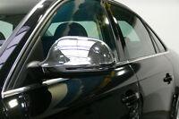 CACHES RETROVISEURS CHROME pour AUDI A3 S3 8P 8P3 A4 B8 8K A5 S5 A6 C6 4F SLINE