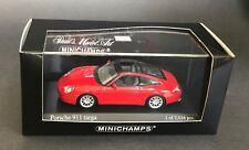 MINICHAMPS 1:43 Porsche 2001 Porsche 911 Targa - Red 400 061060