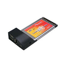 2-Port USB 2.0 + IEEE 1394 Firewire Combo PCMCIA CardBus Card