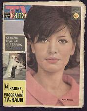 SORRISI 19/1961 ALIDA CHELLI ROMA PIAZZA DI SIENA PEPPINO DI CAPRI NIVES ZEGNA