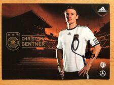Christian Gentner 1. AK DFB 2010 Autogrammkarte original signiert