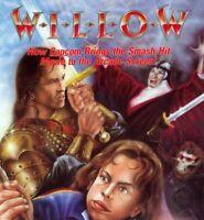 Willow Arcade FLYER Capcom Original NOS 1989 Video Game Movie  Promo Art Sheet