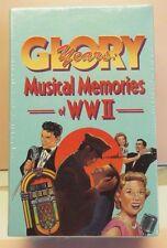 NIP Vtg Glory Years Musical Memories of WWII - Volume 1,2,3 Box Set! Cassettes