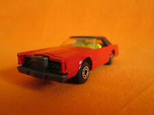 MATCHBOX LINCOLN CONTINENTAL N 28 SUPERFAST BULGARIAN CAR TOY Vintage red