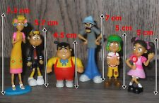 Lote de 6 Figuras El Chavo del 8 Miden 5-7 Centimetros @2013 jakks PVC duro