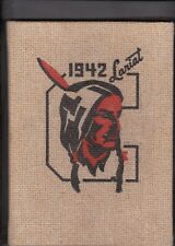1942 Cheyenne High School Year Book, The Lariat, Cheyenne, Wyoming