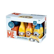 Despicable Me Minions 2-in-1 Bowling and Skittle Set by MINIONS New