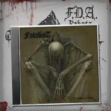 FATALIST - The Bitter End - CD - DEATH - FDA Records