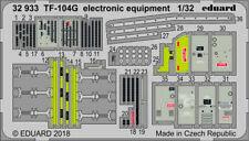 Eduard PE 32933 1/32 Lockheed TF-104G Starfighter electronic equipment Italeri
