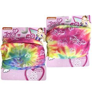 JoJo Siwa Live Your Dream Headband Multi Function Head Wrap Nickelodeon 2 Each