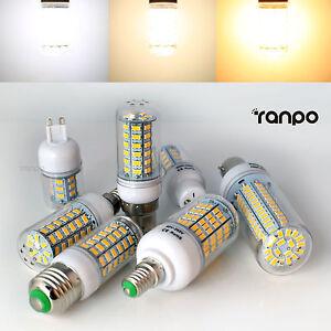 E27 E14 B22 G9 GU10 5W 7W 9W 12W 15W 25W 28W 5730 SMD LED Corn Light Bulb Lamp