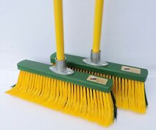 2x Outdoor Broom - Special Broom - 35 cm - Broom Revolution Rakebroom Clawbroom