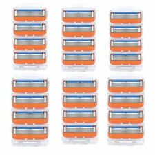 24X Replacement for Gillette Fusion Male Razor Blades Shaving Cartridges Refill