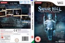 Silent Hill: destrozado Recuerdos. Nintendo Wii Caja de Sustitución Arte Manga/REPRO