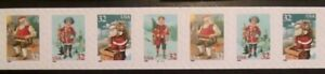 US Stamp #3014-3017 Christmas Numbered Coil Strip