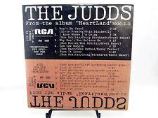 LP - THE JUDDS Wynonna & Naomi J-0287 - from Album HEARTLAND promo album