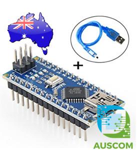 Arduino Nano 3.0 Atmel ATmega328P R3 Mini-USB Board + USB Cable