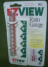 Ez View Rain Gauge, Mint on Card