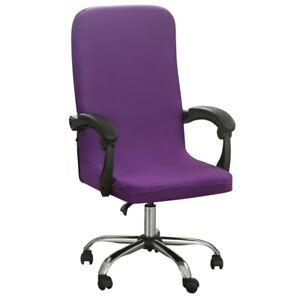 M/L Geometry Printed Elastic Stretch Computer Chair Cover Dust-proof Slipcover
