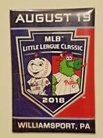 2018 MLB LITTLE LEAGUE CLASSIC Rare Magnet - Phillies vs Mets -Williamsport LLWS