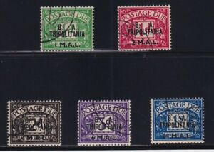 Great Britain - East African Forces (Tripolitania) Sc #J6-10 (1950) Postage Dues