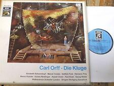 SME 90 284/85 Orff Die Kluge / Schwarzkopf / Sawallisch etc. 2 LP box