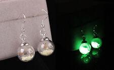 LED Light Emitting Luminous Earrings Blinking Ear Studs Dance Party Prom1 Pair