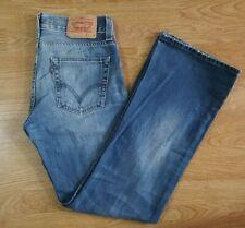 Levis 512 Jeans Boot Cut Denim Size W31 L32