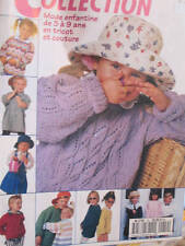 Diana Collection Mode Enfantine 3-9 Ans Tricot & Couture Magazine #19- All Shown