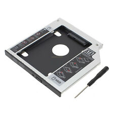 Hard Drive Tray 9.5mm caddy SATA to SATA 2nd HDD Caddy for HP Dell HP