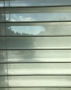 """2 NEW White Sheerview Window Shading Blind 27"""" X 64"""" lot of 2"""