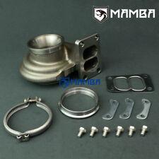 Mamba turbine housing GT3076R HKS 3037 55/60 MM A/R .82 Twin Scroll T3 v-band
