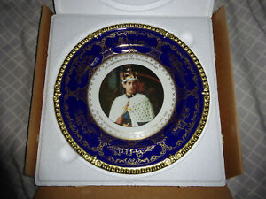 Prince Of wales 25th Anniversary Of The Investiture 1994 Caverswall Plate Lt.Ed