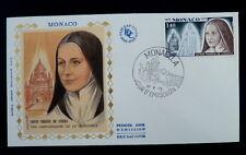 MONACO PREMIER JOUR FDC YVERT  916     BOUQUET     3,50F      1973