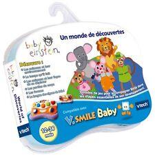 Jeu V smile baby Vsmile Vtech baby einstein découverte