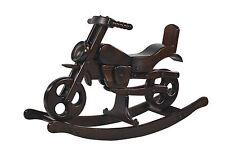 BRAND NEW ROCKING MOTORBIKE TOY SOLID WOOD rocking horse VIKING TRE MJmark