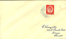 Militar cancelación: 1957 Campo Post office/1042 (West tofts) double/r Ing