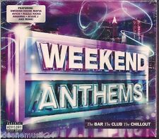 3 CD Rihanna, Lana Del Rey, Jessie J, Mohombi, Gotye `Weekend Anthems` Neu/OVP
