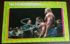 Sycho Sid Vicious Signed Auto 1996 WWF Magazine Card #55 Autographed WWE Justice