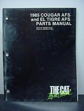 Arctic Cat 1985 Parts Manual Cougar AFS & El Tigre AFS Snowmobile OEM #182