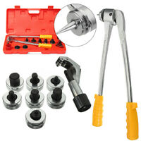 7 Lever Hydraulic Tubing Expander Tool Swaging Kit HVAC Tool Tube Piping Pipe