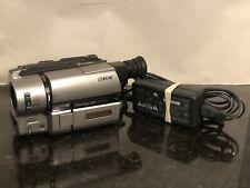 New ListingSony Ccd-Trv65 Hi8 8mm Video8 Camcorder Vcr Player Record Transfer Hi-8 Read
