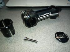 Specialized s works carbon face clip stem 100 mm adjustable angle