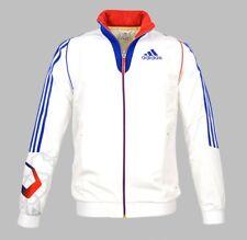 Adidas Olympia Jacke France Athleten Trainingsjacke Atmunsaktiv Training Herren