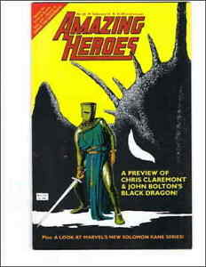 Amazing Heroes #65 VF; Fantagraphics | save on shipping - details inside