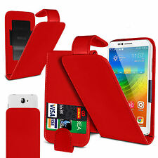 Clip On PU Leather Flip Case Cover Pouch For ZTE Open L