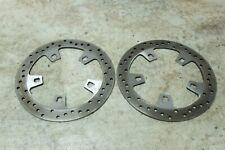 13 Harley Davidson Road King front brake rotors disks